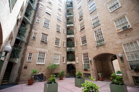 Inner Courtyard with well maintained landscaping