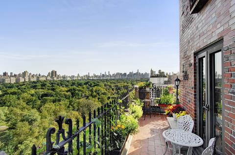 Terrace and Central Park View Facing South