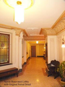 Fully Restored Period Lobby