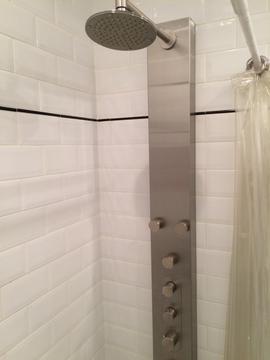 spa - shower panel