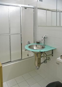 Bathroom (newly refinished)
