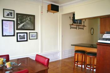 Dining room/kitchen counter