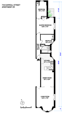 Floor plan as currently configured