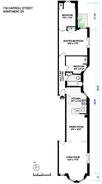 Floor plan as currently configured