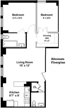 Alternate Floorplan 1