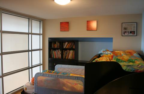 Third level- 1st bedroom