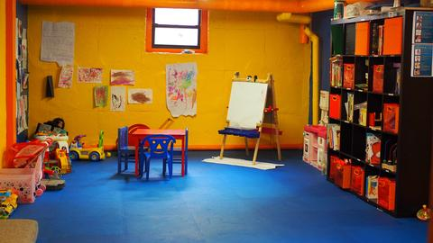 Building's new playroom