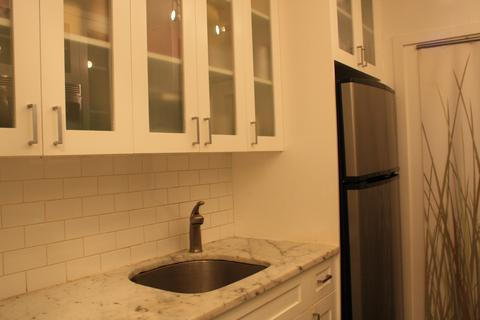 Kitchen - facing sink