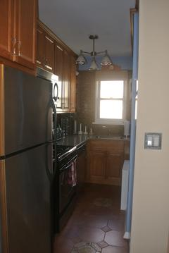 Renovated Kitchen with full sized appliances
