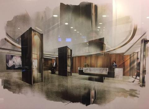 Rendering of the New Lobby - (Accessible Early December)