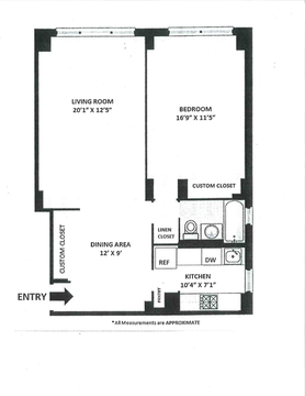 Updated Floor Plan - South Facing, Corner Unit (SW Corner)