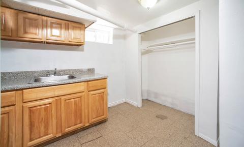 Lower level summer kitchen
