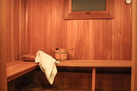 Sauna - Basement