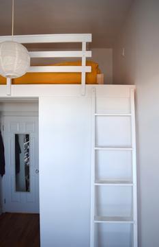 Bedroom (built-in loftbed)