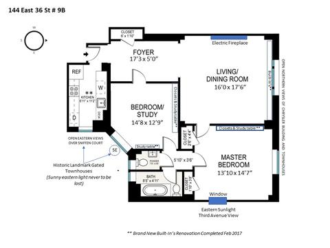 Current floorplan (not to scale)
