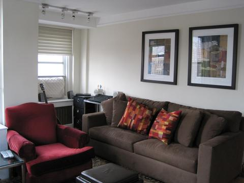 Living Room and alcove