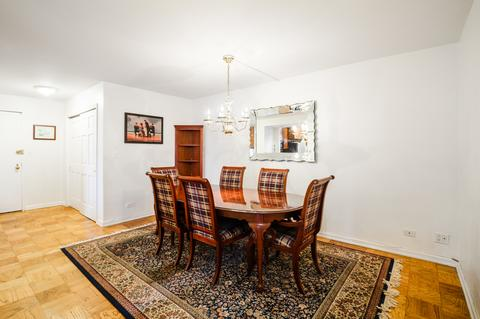 Spacious Dining Room can easily accommodate dinner parties for 8 guests. Convertible into a LR