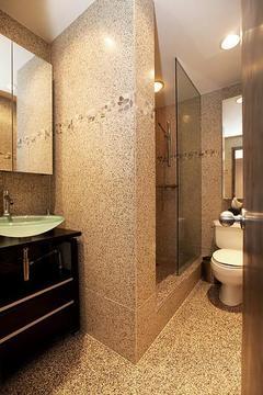 Bathroom with Philipe Stark fixtures