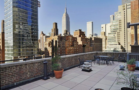 140 E 40th St Rooftop Terrace