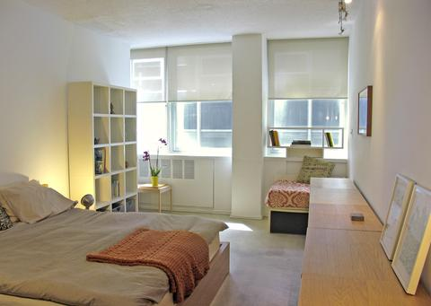 Bedroom (very large, note that this is a king-sized bed)