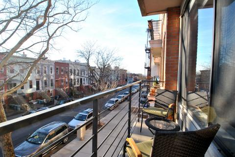Terrace Overlooking Historic Townhomes