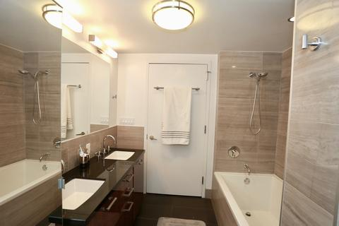 Master Bath - double sinks, shower and soaking tub