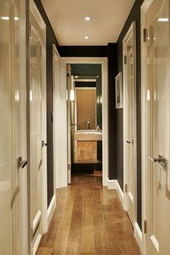 Hallway to Powder Room