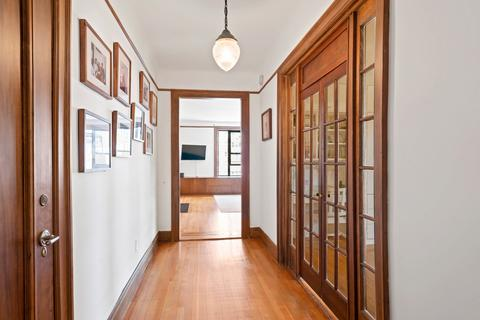 Spacious entry corridor with old world charm