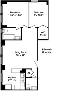 Alternate Floorplan 2