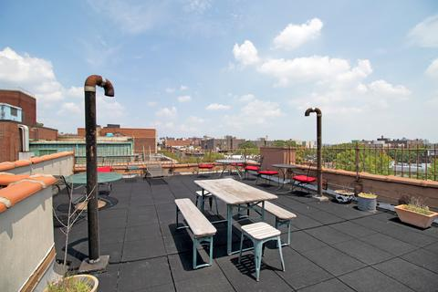 Roofdeck facing north