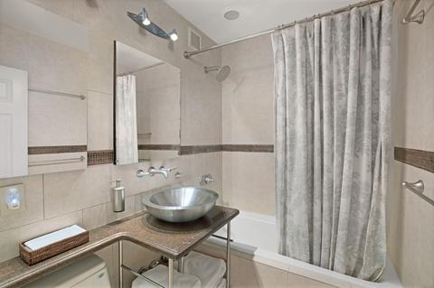 Bathroom with shower/and bathtub