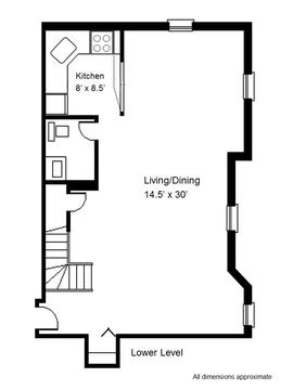 Floorplan Lower Level