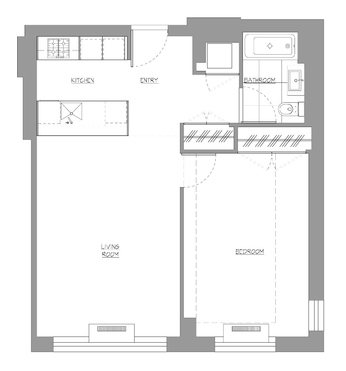 After Renovation Floor Plan