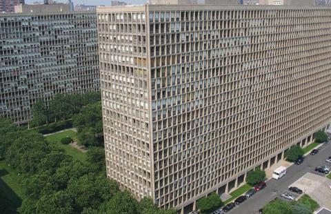 Aerial View of Kips Bay Towers