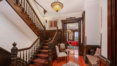 Central Staircase Parlor Floor