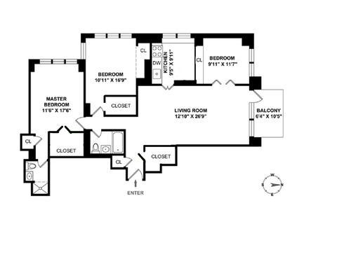 Floorplan 15F