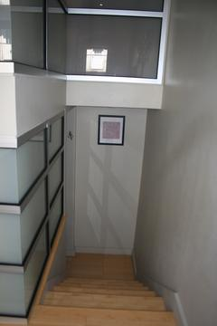 Stairs to lower level- 3rd bedroom with dressing area and en suite bathroom