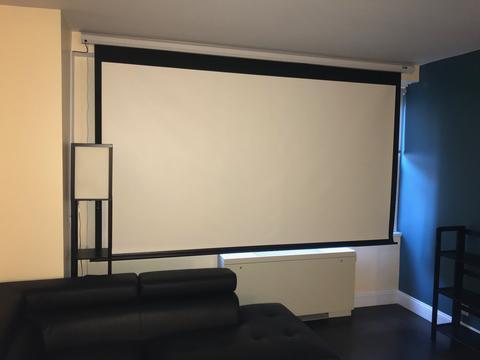 100''+ Projector Screen