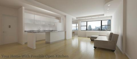 Possible open kitchen