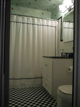 Bathroom with updated fixtures
