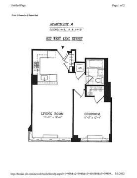 Floorplan (address was updated to 635 from 627)