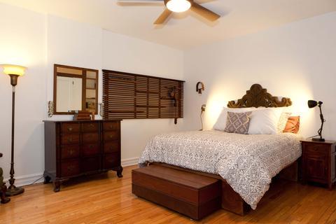 Vast master bedroom with walk-in closet