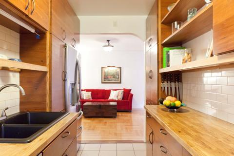 Cook's kitchen, built by designer/owner