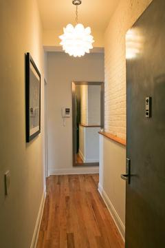 Condo entry hallway