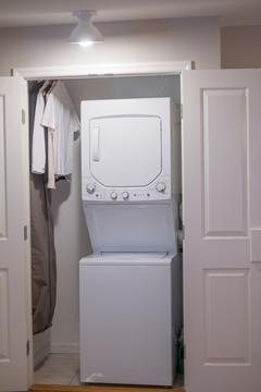 In-unit washer-dryer