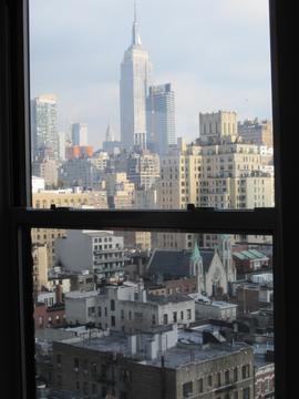 Cityscape, Empire State Building view