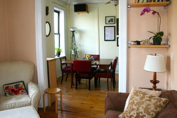 Dining room & bedroom