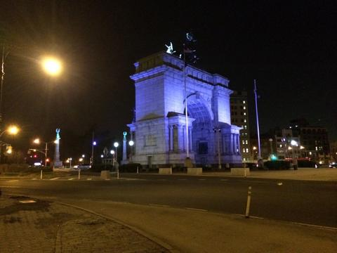 Grand Army Plaza - evening