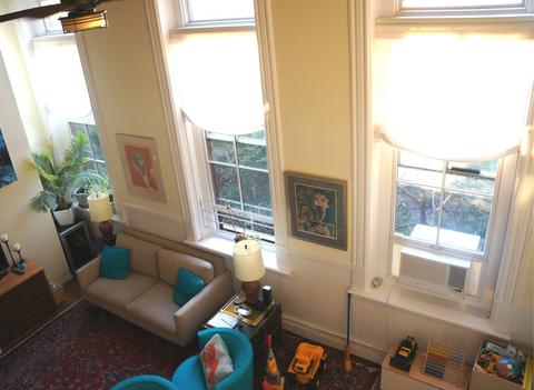 Living room (from the loft)