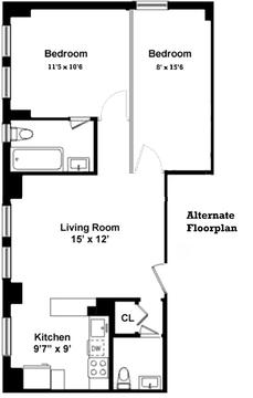 Alternate Floorplan 3